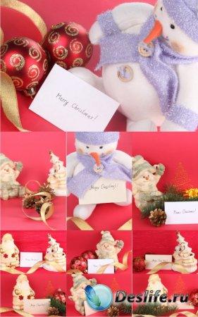 Stock Photos - Новогодние украшения (Christmas Cards 2)