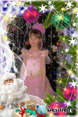 Новогодняя рамка для фотошопа – Мой Новый год