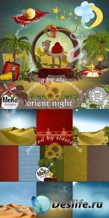 Скрап-набор - Восточная ночь (Orient night)