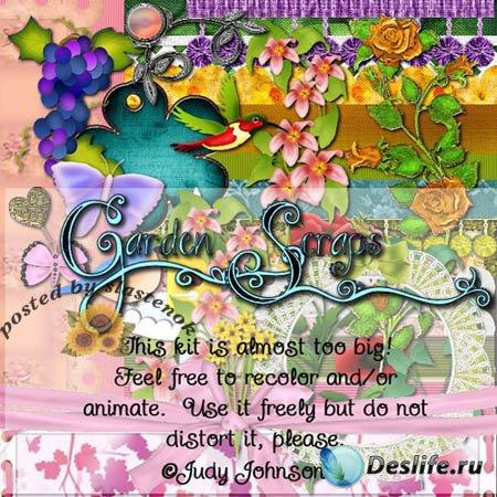 Скрап-набор - Садовый (Garden)