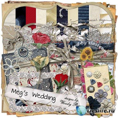 Скрап-набор - Meg's wedding