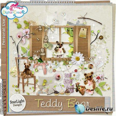 Скрап-набор - Мишка Тедди (Teddy bear)