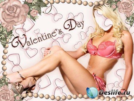 Женский костюм – Подарок на День Святого Валентина