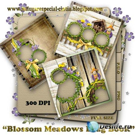 Скрап рамки - Blossom meadows