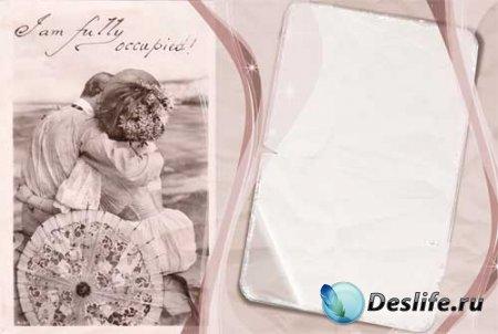 Рамка для фотошопа - Старинное фото