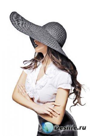 Фото в экстра стиле - В шляпке