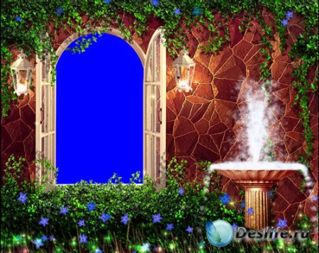 Свадебный футаж - Окно из сада (Озвучен)