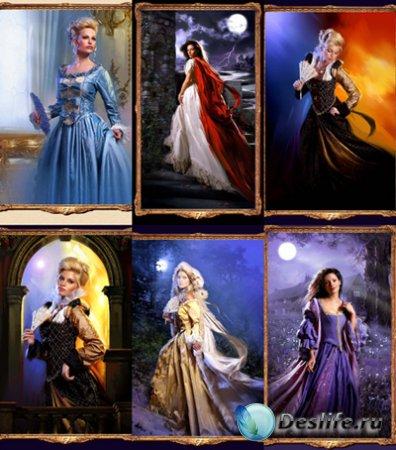 Женские костюмы фотошопа - Сама элегантность