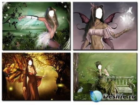 Костюмы для фотошопа – Сказочные существа