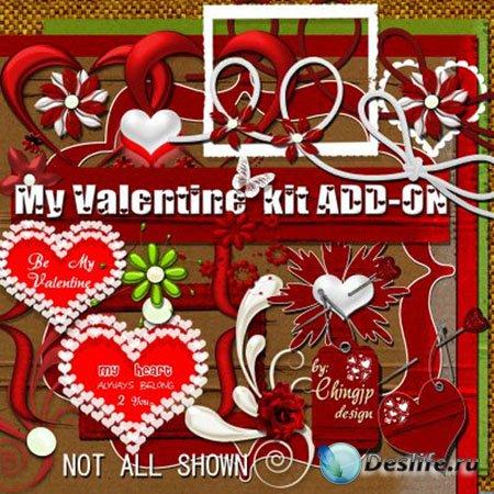 Скрап-набор - My Valentine