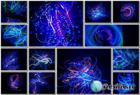 Мистические огни - фоновые заставки для фотошопа