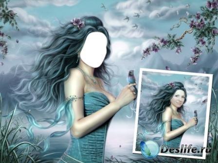 Костюм для фотошопа – Девушка-загадка