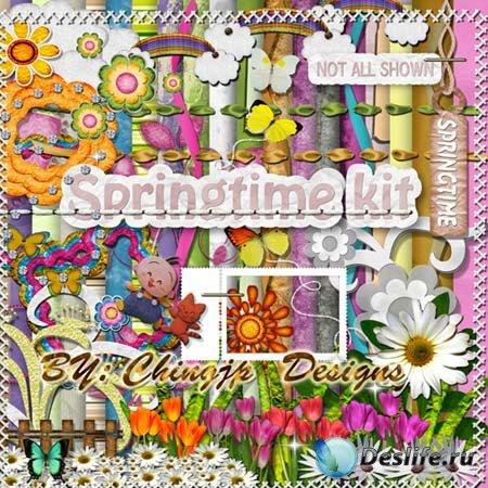 Скрап-набор - Springtime