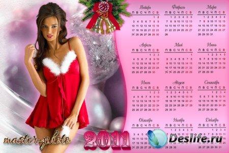 Календарь Секси-4 на 2011 год