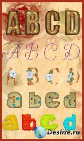 Клипарт - Набор алфавитов 4
