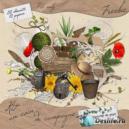 Cкрап-набор – Весенний набор для подруги