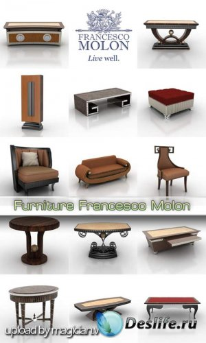 3D модели - Melissa Furniture