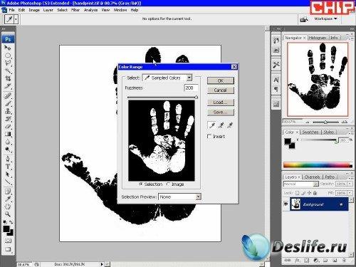 Создание пользовательских кистей для фотошопа