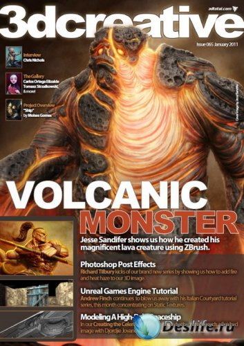3DCreative №065 (January 2011)