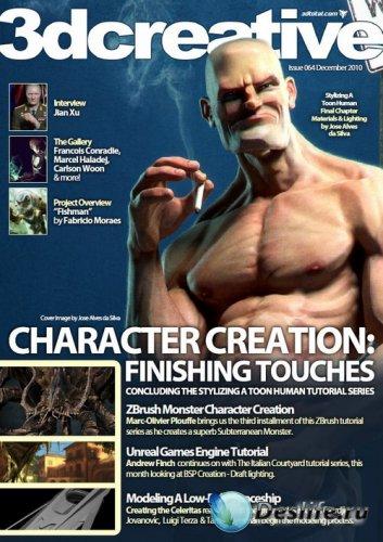 3DCreative №064 (December 2010)