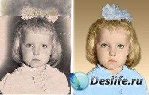Видеоурок для фотошопа: Превращаем старое черно-белое фото в цветное