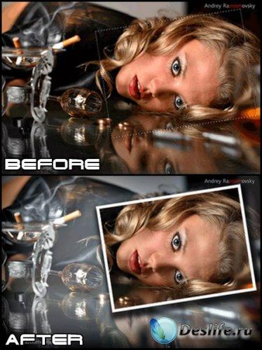 Урок фотошоп - Спецэффект слайда в фотографии