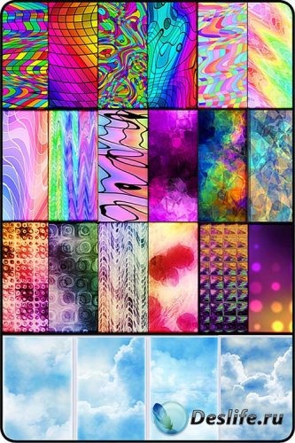 40  бесшовных текстур  (Patterns)