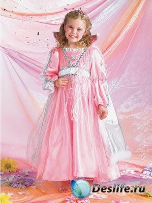Детские костюмы для фотошопа - Маленькая Фея