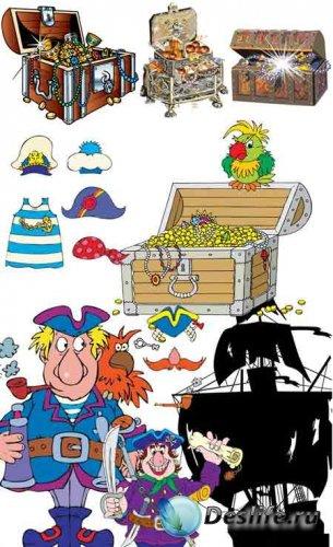 Векторные пираты и сундуки