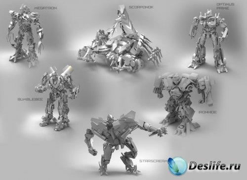 3D Модели Трансформеров