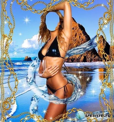 Женский костюм – В окружении воды
