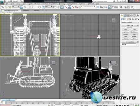 Подборка видеоуроков 3DsMax для начинающих на русском языке