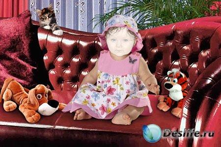 Детский костюм для фотошопа - Будем знакомы