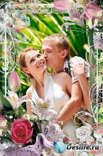 Романтическая рамка для фотошопа – Для самой нежной
