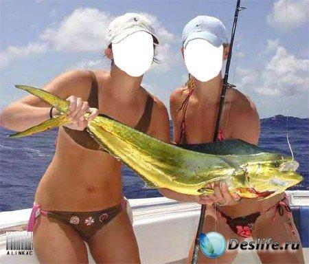 Костюм для фотошопа - Золотая рыбка!