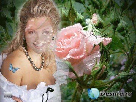 Костюм для фотошоп – Роза на восьмое!