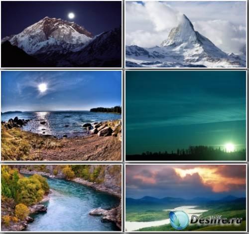 Очень красивые пейзажи с дикой природой