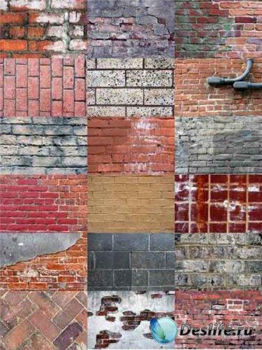 Качественные текстуры кирпичных стен