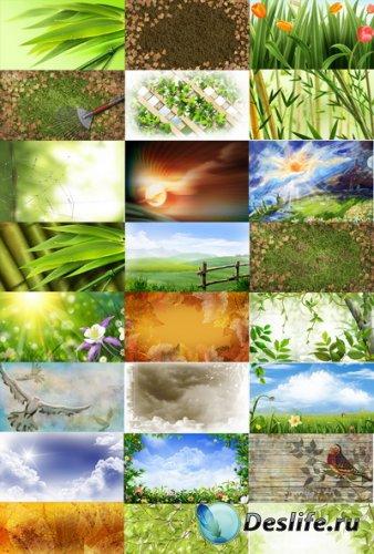 PSD Исходники - Природа (Nature)