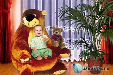 Детский костюм для фотошопа - Наш малыш