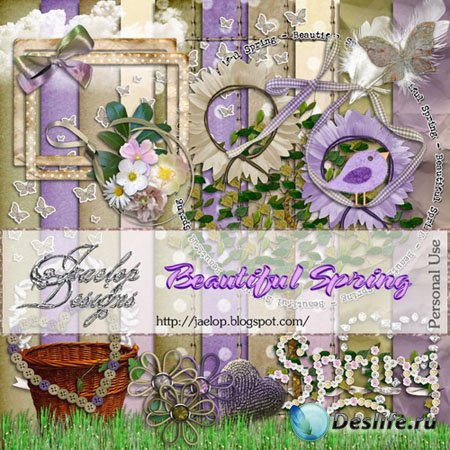 Скрап-набор - Beautiful spring