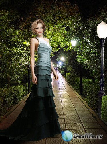 Костюм для фотошопа - Ночная прогулка
