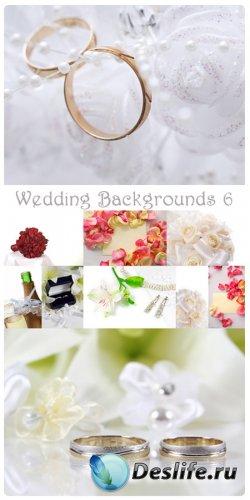 Фотоклипарт - Свадебные фоны 6