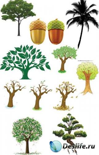 Деревья в векторе деревья в векторе 11