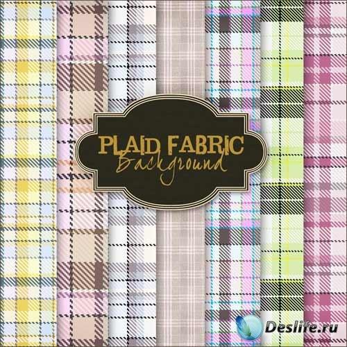 Текстуры для Фотошопа Plaid fabric