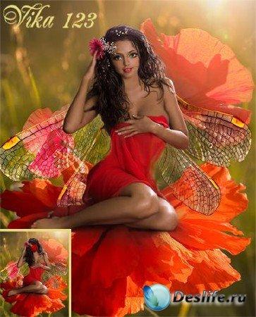 Костюм для фотошопа - Flower Fairy