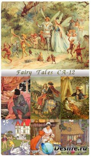 Рисованные иллюстрации из сказок (Fairy Tales CA - 12)