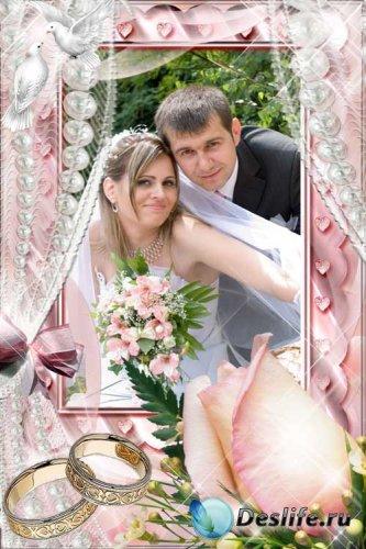 Рамочка для свадебного фото - Мечта всей моей жизни!