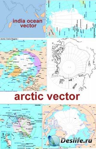 Карты полюсов в векторе