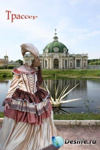 Костюм для фотошопа - Русская графиня
